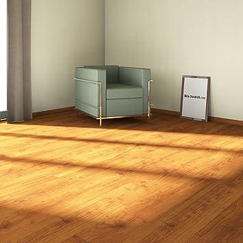 Elesgo-laminado de madera de haya de verano de borde liso floor