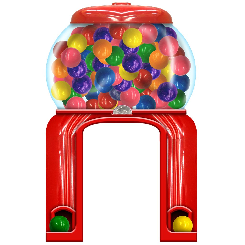 Gumball Machine Archway Standee Candy Party Prop by Shindigz