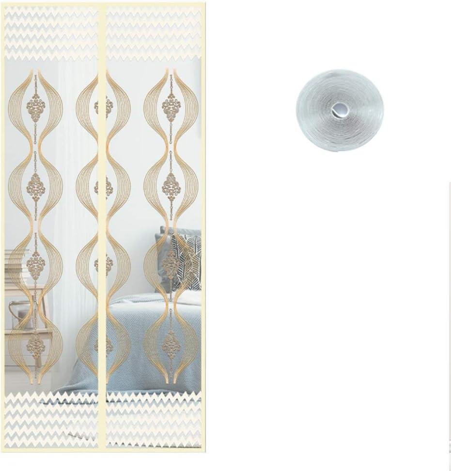 Zhaoxiaomei Mampara Magnética con Puerta Divisora para Mantener A ...