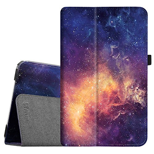 Fintie Folio Case for Samsung Galaxy Tab E 9.6 - Slim Fit Premium Vegan Leather Cover for Tab E/Tab E Nook 9.6-Inch Tablet (SM-T560/T561/T565 & SM-T567V Verizon 4G LTE Version), Galaxy