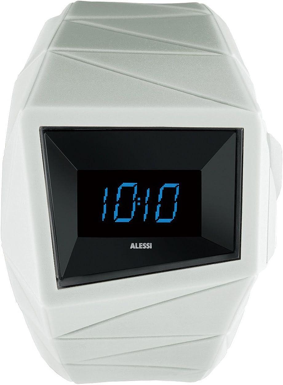Alessi Men s AL22004 Daytimer Polyurethane White Designed by Federico Grazzini William Alsop Watch