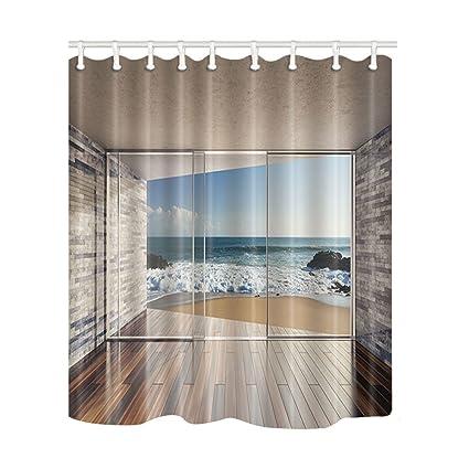 KOTOM moderna architettura tende da doccia vuoto moderno soggiorno ...