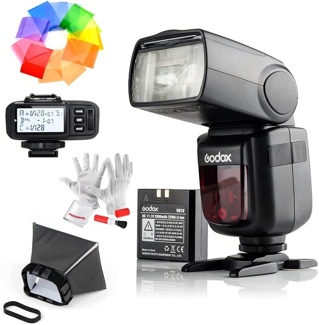 Flash Speedlite con disparador de flash X1T-S para Sony