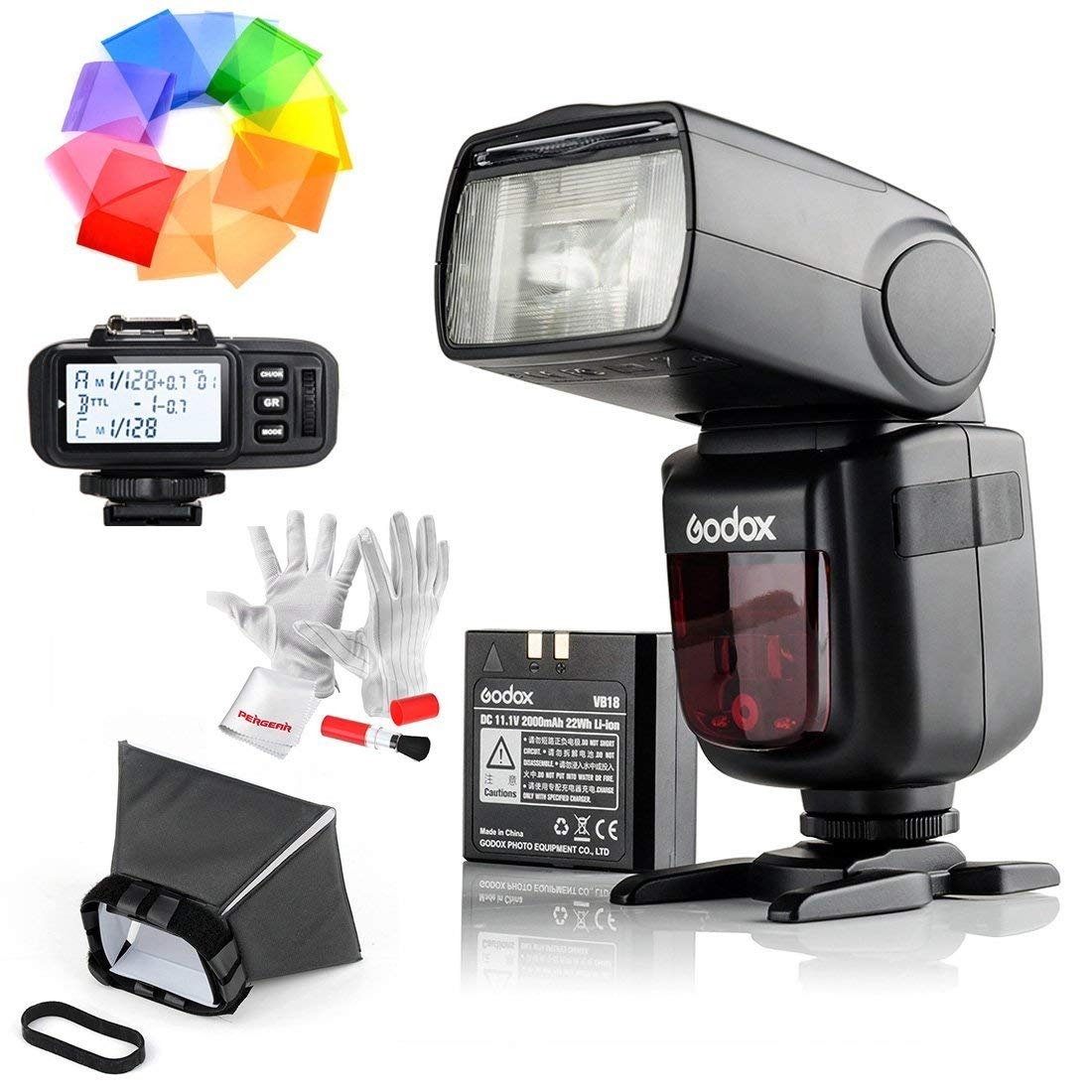 Godox Ving V860IIS 2.4G GN60 TTL HSS 1/8000s Li-on Battery Camera Flash Speedlite With X1T-S Flash Trigger for Sony - 1.5S Recycle Time 650 Full Power Pops Supports TTL/M/Multi/S1/S2 by Godox