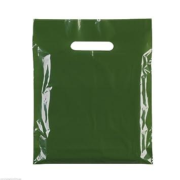 100 x bolsas de plástico de colores fiesta bolsas de regalo ...