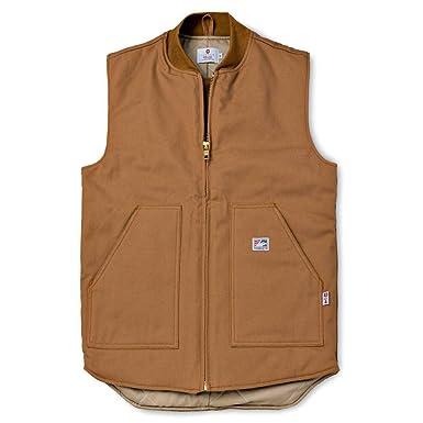 e8106b18a912 Amazon.com  Tyndale Men s Heavyweight FR Vest  Work Utility Outerwear   Clothing