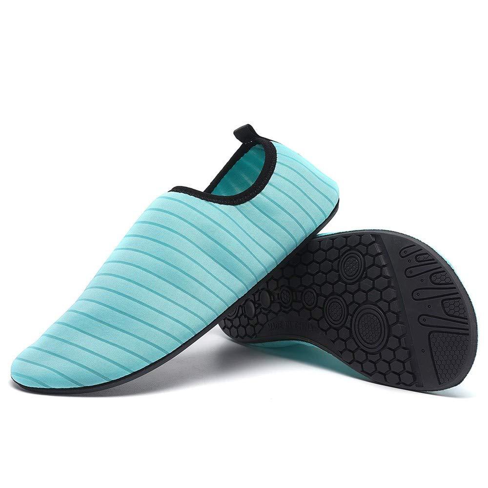SFE Womens Mens Water Shoes Barefoot Quick-Dry Aqua Socks Beach Swim Surf Exercise