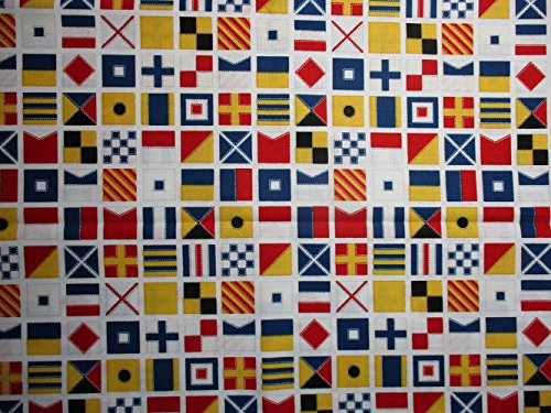 Down by the Sea by Mary Lake-Thompson Nautical Flags from Ro
