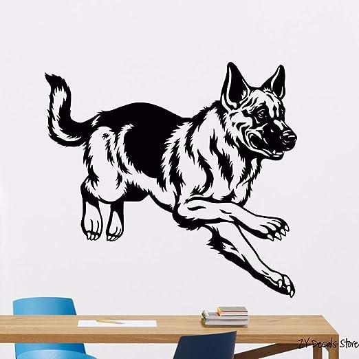 tong99 Perro de Pastor alemán Tatuajes de Pared Mascotas Perros ...