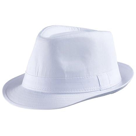 Dress Up America Cappello bianco Fedora Adulti  Amazon.it  Giochi e ... 14c2db569188