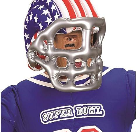 CASCO Football americano gonfiabile Costume USA NFL Sports Adulti Bambini