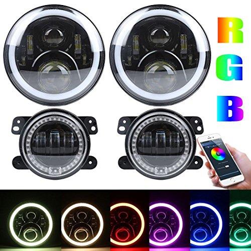 7 inch RGB Headlights,7