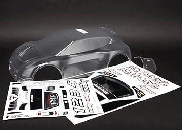carrocería transparente rally 1/10 - TRAXXAS - TRX7411