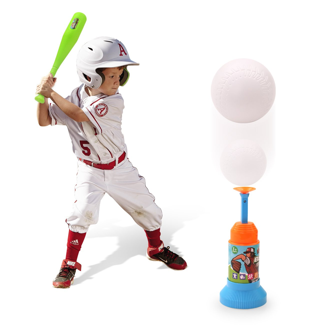 amazon com exercise n play training automatic launcher baseball
