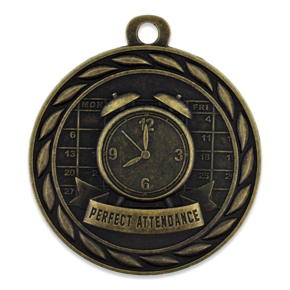 ゴールドパーフェクトな魅力的なシングル&バルク学校メダル B0791NKPH5  25 Pack