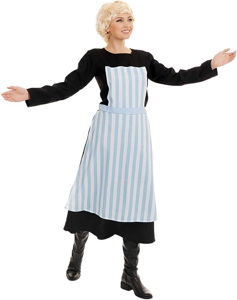 Fun Shack Azul Niñera De Película Musical Disfraz para Mujeres ...