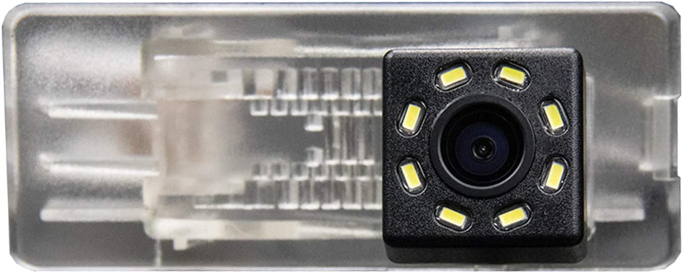 HD 720p Reversing Camera in Number Plate Light License Rear View Backup camera for Renault Captur Duster//Dacia Duster 2010~2014