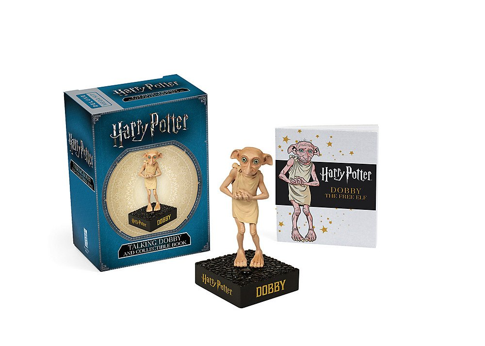Pack Harry Potter: Talking Dobby + Book Miniature Editions: Amazon ...