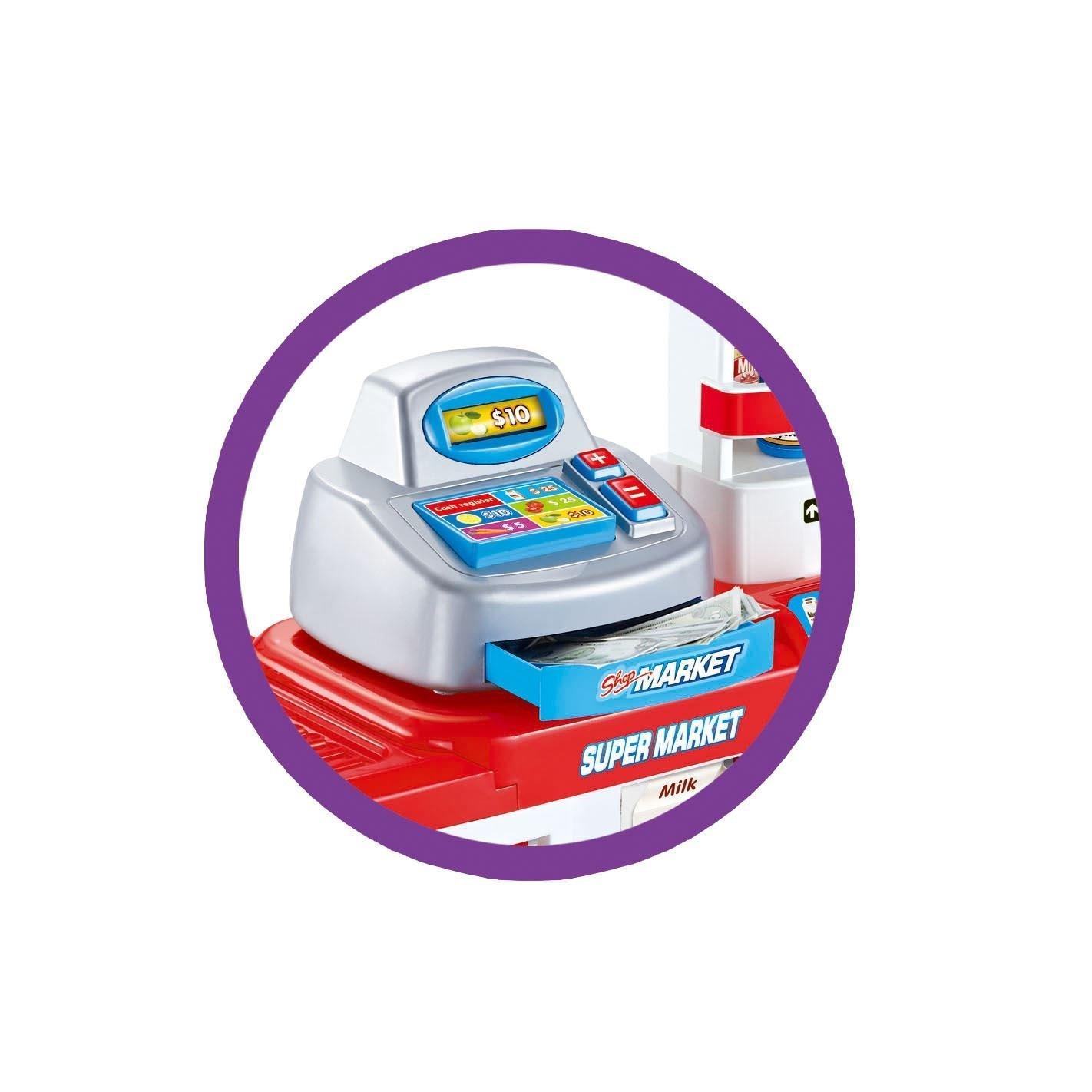 Inside Out Toys Tienda y Carrito de la Compra de Juguete para niños