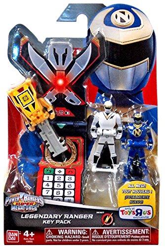 Power Rangers Super Megaforce Legendary Ranger Key Pack Roleplay Toy [Alien Rangers]