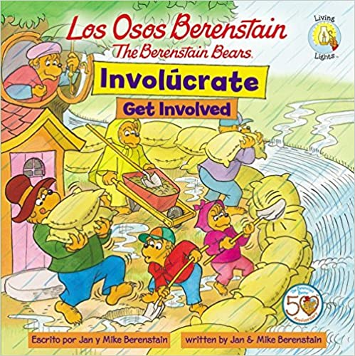 Book Los Osos Berenstain Involucrate/Get Involved (Berenstain Bears Living Lights 8x8)