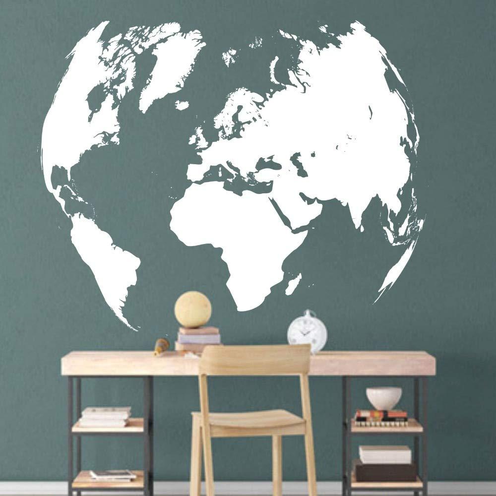 Mapa del mundo Tatuajes de pared Oficina Aula de viaje Mapa del ...
