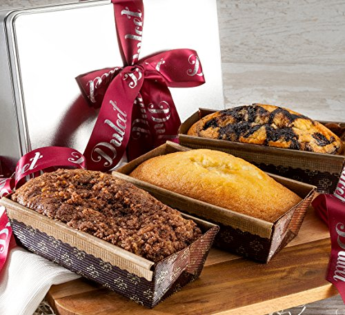 Gourmet Assorted Loaf Cakes in Dulcets Sginature Gift Tin.