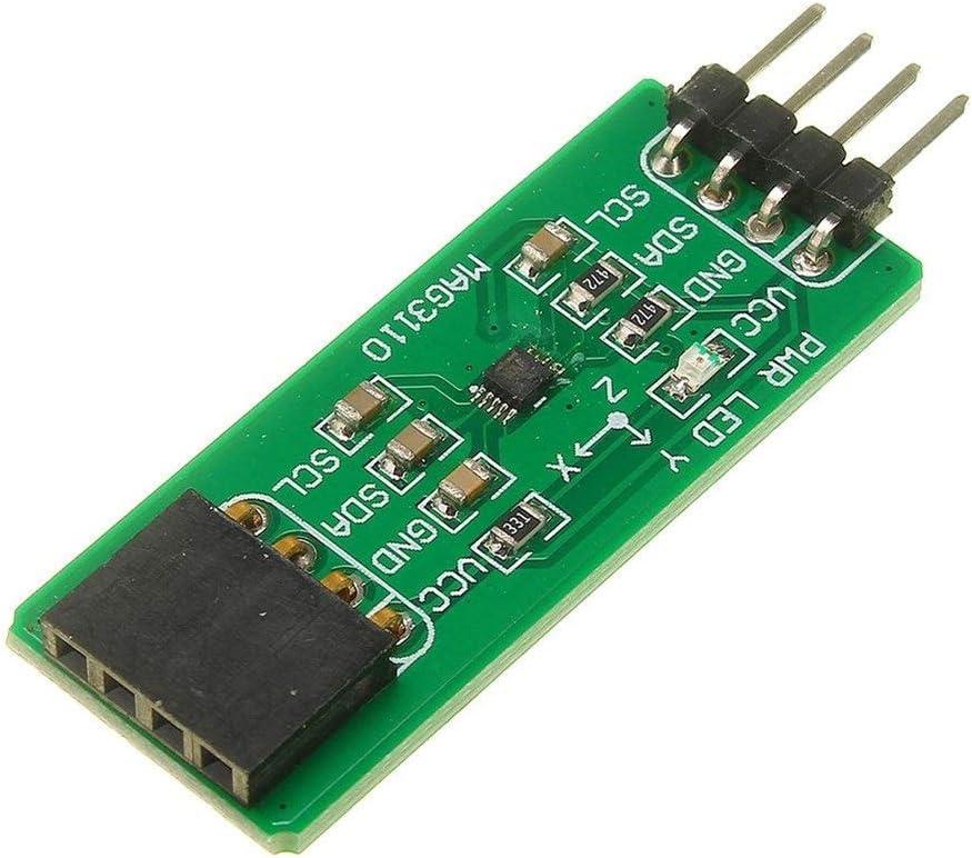 Power Module Electronic Compass Module Three-axis Magnetoresistive Sensor Magnetometer