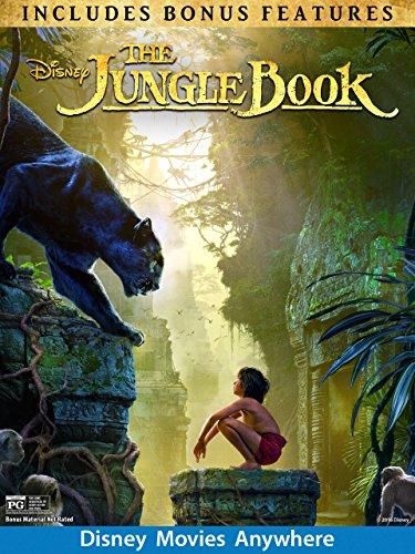 The Jungle Book (2016) (Plus Bonus Features)