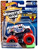 #2: HOT WHEELS MONSTER JAM 1:64 SCALE ICE CREAM MAN CLEAR CRUSHERS INCLUDES RE-CRUSHABLE CAR