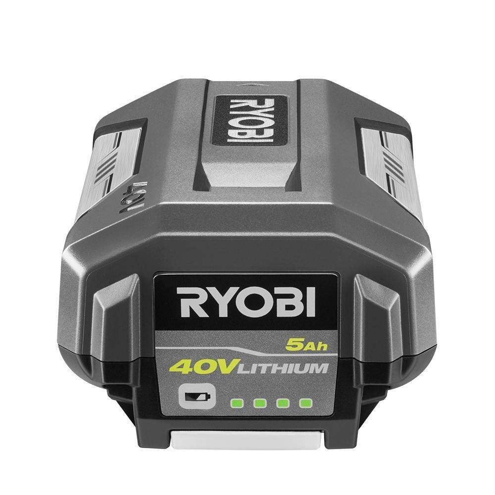 Ryobi 40-Volt Lithium-Ion 5 Ah High Capacity Battery - New