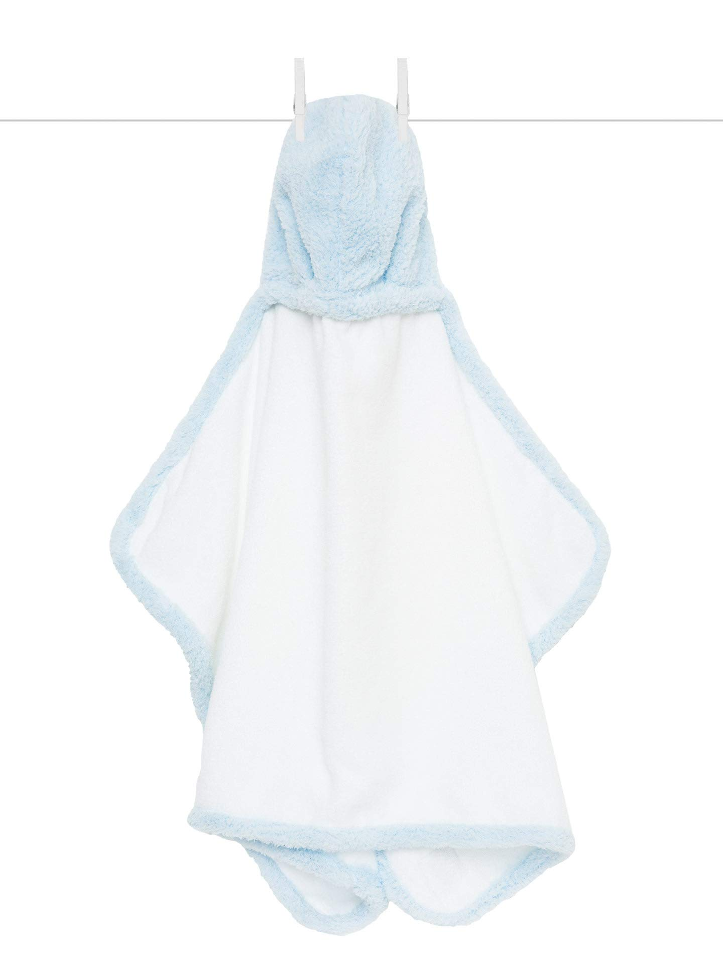 Little Giraffe Chenille Towel, 41'' X 24'', Blue by Little Giraffe
