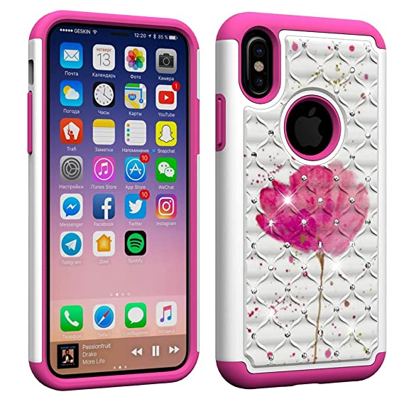 3cce9ffbac1 Aiyze Compatible Apple iPhone XS Max Case 6.5 quot   Heavy Duty  Tough Dual  Layer