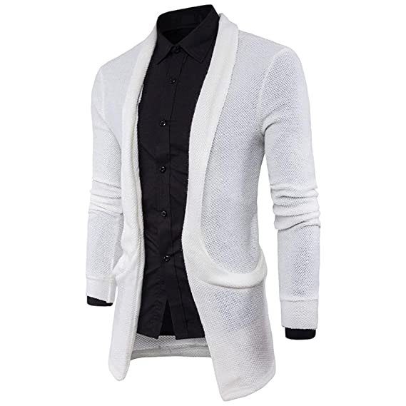 Hombres Jersey De Punto Cardigan, todaies Fashion para ...