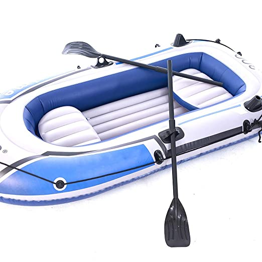 LNLN Inflable Hilera Flotante PontóN Barco De Pesca Bote Inflable ...
