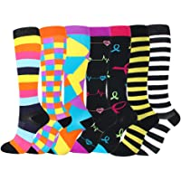 Womens Compression Socks Premium Wide Calf Medical Compression Socks Stockings for Running,Athletic,Recovery