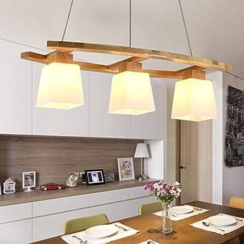 Lámpara colgante ZMH lámpara colgante de mesa de comedor lámpara ...