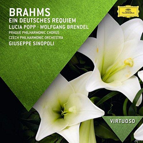CD : Giuseppe Sinopoli - Popp / Brendel / Sinopoli / Czech Phil Orch : Virtuoso: Brahms - Ein Deutsches Requiem