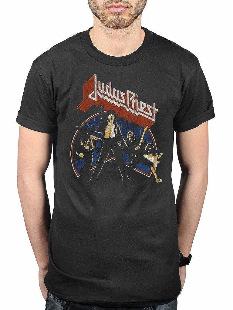 AWDIP Oficial de Judas Priest liberado versión 2 Camiseta británico Acero Turbo Pecado después de Pecado epitath: Amazon.es: Ropa y accesorios