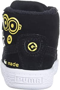 6f7bc71653ad Minions Suede Mid Fur Kids Sneaker