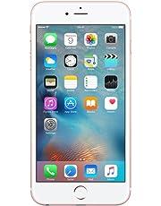 Apple iPhone 6s 16GB Rose Gold (Renewed)