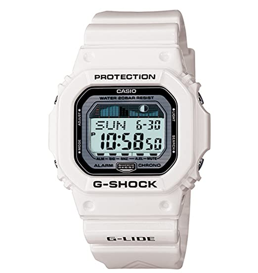 Casio GLX5600-7 - Reloj, correa de resina color blanco: Casio: Amazon.es: Relojes