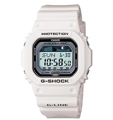 a853fbf29 Amazon.com: Casio Men's GLX5600-7 G-Shock G-Lide Surfing Watch ...