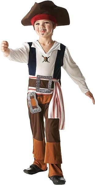 Rubies Captain Jack - Piratas del Caribe - Traje de disfraces para ...