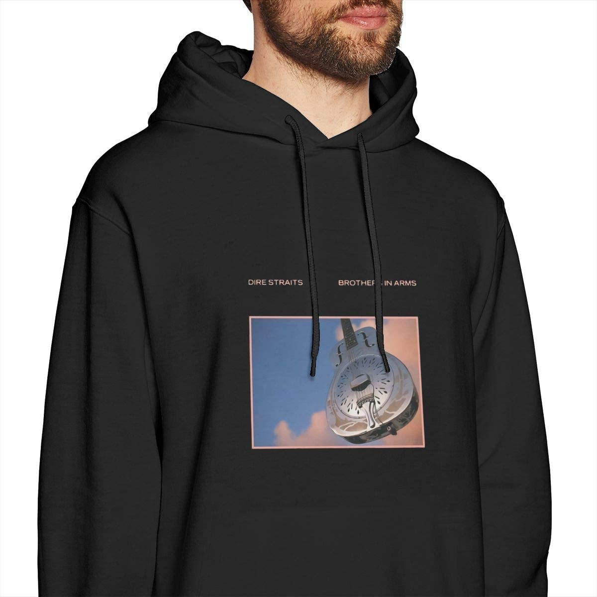 Mens Dire Straits-Brothers in Arms Sweatshirts Hoodie Pullover
