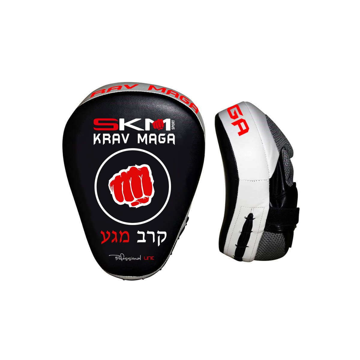 Krav Maga Wing Chun Other Martial Arts Thai Boxing Boxercise Kickboxing MMA Isuper 1pcs Punch Mitts Suitable for Boxing Taekwondo Karate