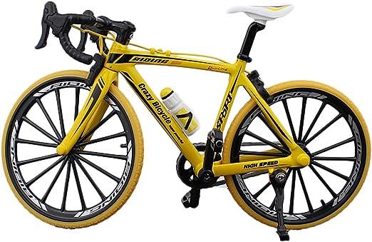 Knowooh 1:10 Bicicleta Miniatura Bicicleta de Carretera Modelo de ...
