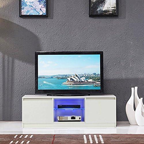 Archi - Mueble para televisor con 2 cajones (Color Blanco): Amazon ...