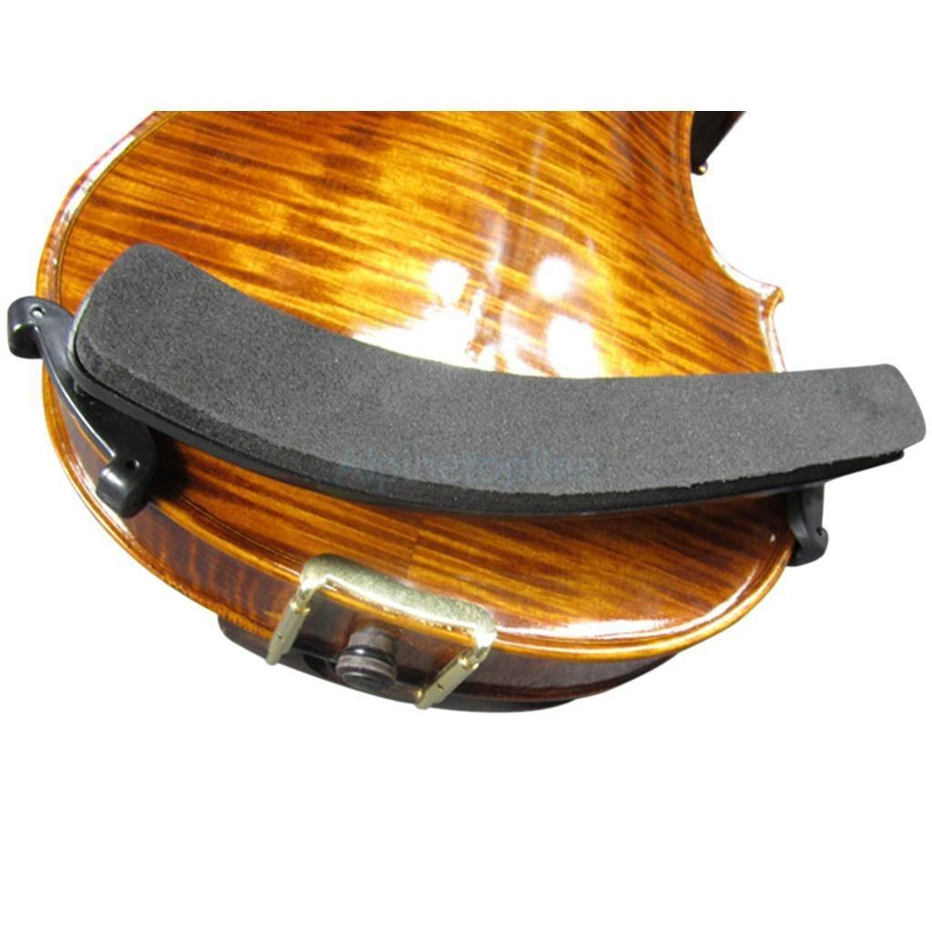 Collapsible 4/4 3/4 violin Viola Shoulder Rest Support Holder Adjudstable New