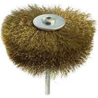 Hemobllo Wheel Cup Brush Coated Wire Drill Brush Set for Deburring Cleaning Dusting Derusting Polishing Grinding